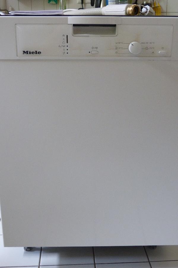 miele geschirrsp ler sp lmaschine aquastop g1022 scu unterbauger t in karlsruhe kaufen und. Black Bedroom Furniture Sets. Home Design Ideas