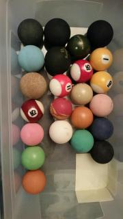 Minigolfbälle