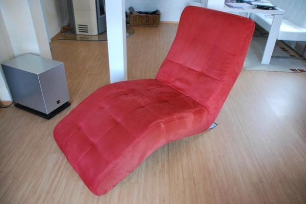 moderne relaxliege microfaserbezug in hochspeyer. Black Bedroom Furniture Sets. Home Design Ideas