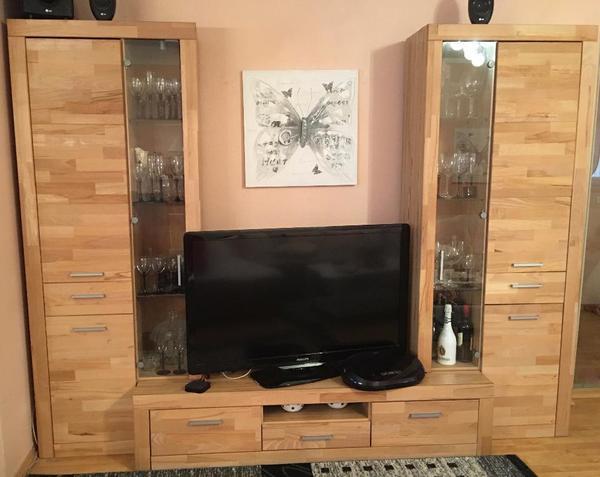 lowboard holz massiv gebraucht. Black Bedroom Furniture Sets. Home Design Ideas