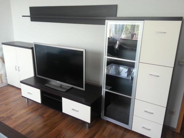 moderne wohnwand in n rnberg wohnzimmerschr nke anbauw nde kaufen und verkaufen ber private. Black Bedroom Furniture Sets. Home Design Ideas