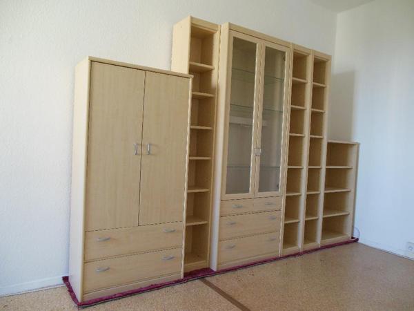 m bel ahorn hell in berlin wohnzimmerschr nke anbauw nde kaufen und verkaufen ber private. Black Bedroom Furniture Sets. Home Design Ideas