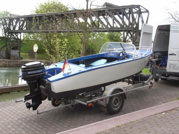 motorboot mit trailer in l nen motorboote kaufen und