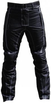Motorradhose Textil schwarz/