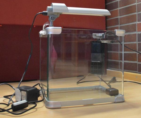 nano aquarium mit lampe und filter dennerle 20l in kaiserslautern fische aquaristik kaufen. Black Bedroom Furniture Sets. Home Design Ideas