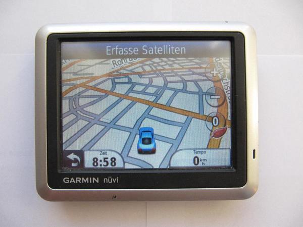 navigationsger t garmin n vi 1245 mit karten von europa. Black Bedroom Furniture Sets. Home Design Ideas