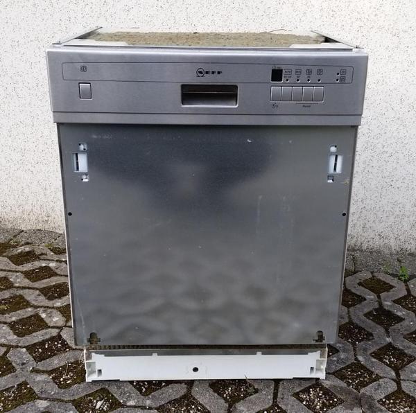 Neff edelstahl spulmaschine geschirrspuler digitalanzeige for Neff spülmaschine
