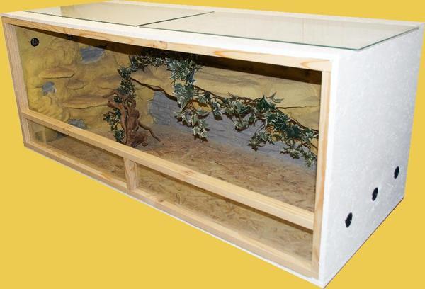 neues terrarium 150x60x60 mit super sch ner r ckwand2 in esslingen reptilien terraristik. Black Bedroom Furniture Sets. Home Design Ideas