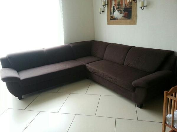 neuwertige eckcouch in frankenthal polster sessel. Black Bedroom Furniture Sets. Home Design Ideas