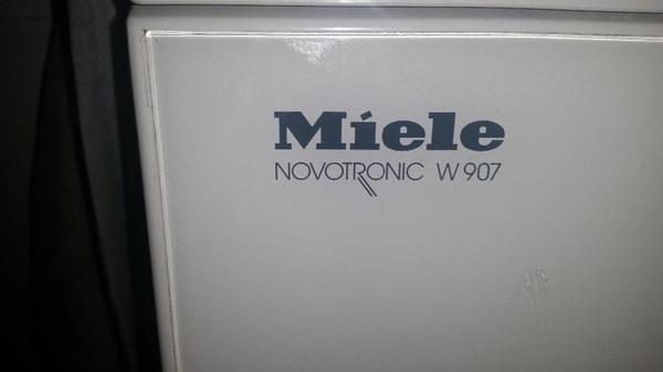notverkauf miele waschmaschine novotronic w907 in st. Black Bedroom Furniture Sets. Home Design Ideas