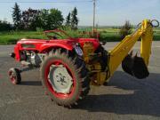 Oldtimer Traktor Bautz