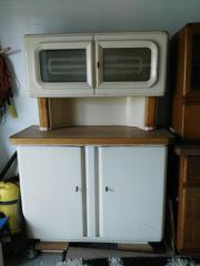 Omas küchenschrank restaurieren