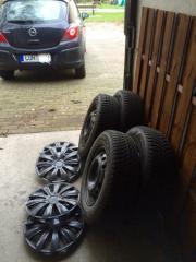Opel Corsa winter