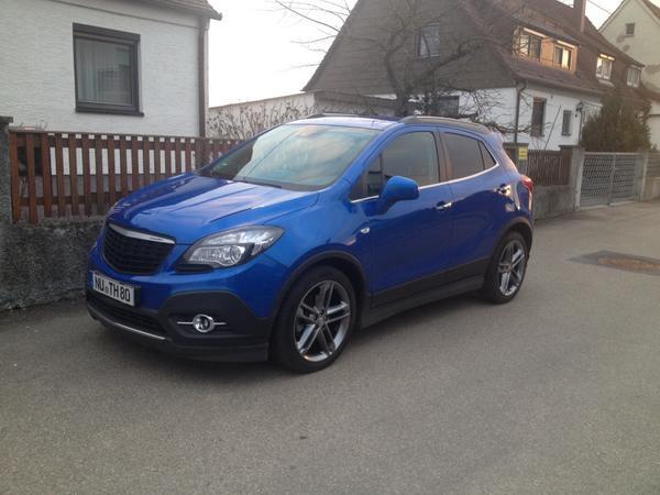 Pkw automarkt ulm donau gebraucht kaufen for Opel mokka opc line paket exterieur