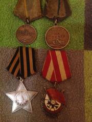 Ordens und Medaillen