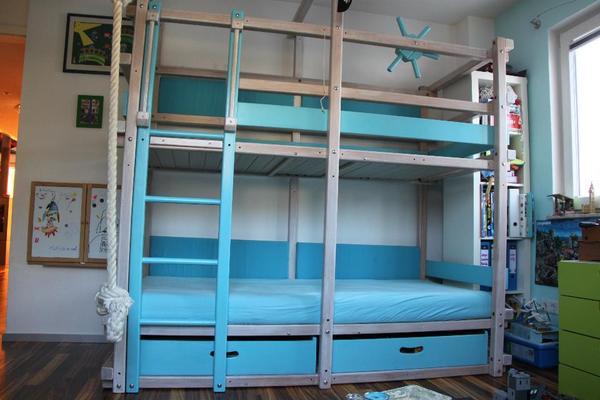 orginal gullibo abenteuerbett billi bolli in m nchen kinder jugendzimmer kaufen und. Black Bedroom Furniture Sets. Home Design Ideas