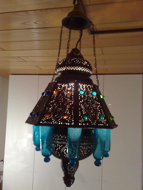 orientalische lampe elektrischer anschluss fassung e27. Black Bedroom Furniture Sets. Home Design Ideas