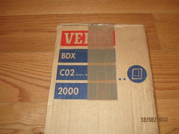 Original Velux Dachfenster Blendrahmen Bdx 2000 C02 55cm