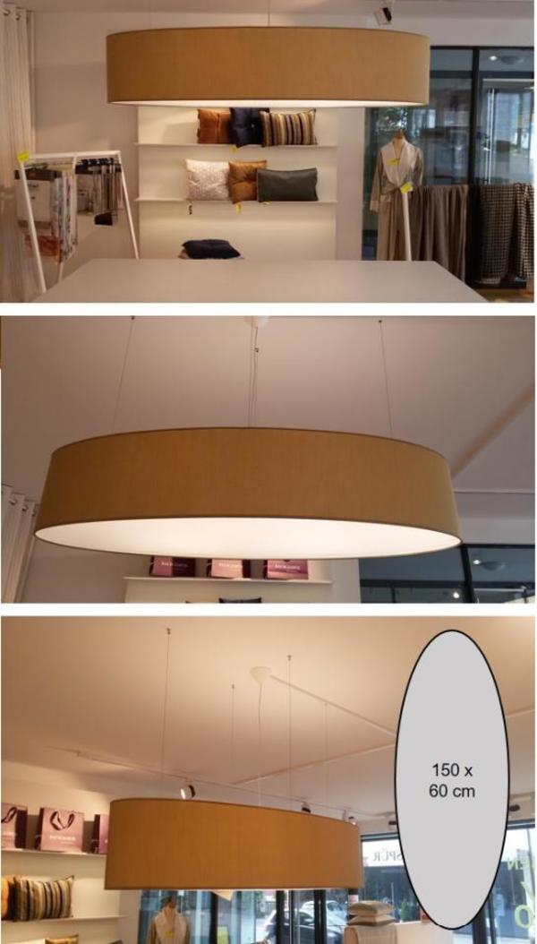 Ovale lampe 150 x 60 cm in dornbirn lampen kaufen und for Lampen 150 cm
