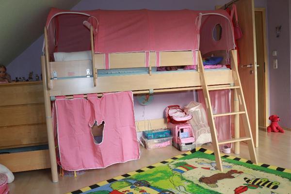 hochbett massiv neu und gebraucht kaufen bei. Black Bedroom Furniture Sets. Home Design Ideas