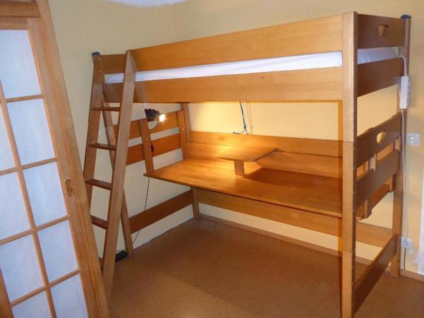 hochbett schreibtisch kaufen gebraucht und g nstig. Black Bedroom Furniture Sets. Home Design Ideas