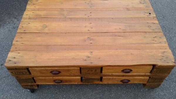 palettentisch couch tisch wohnzimmer in rhede. Black Bedroom Furniture Sets. Home Design Ideas