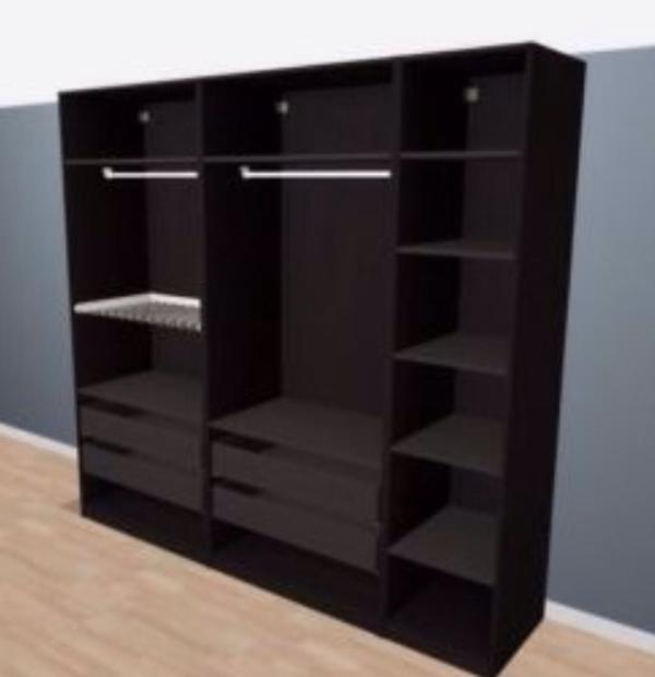 hoher kleiderschrank neu und gebraucht kaufen bei. Black Bedroom Furniture Sets. Home Design Ideas
