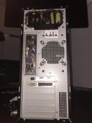 PC-Tower zu