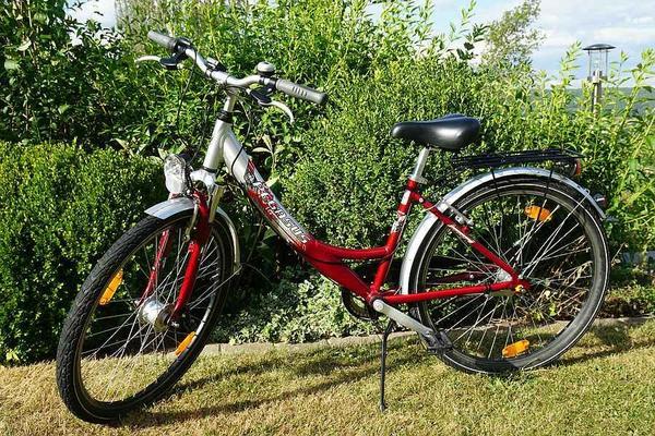 pegasus fahrrad 26 zoll alu top zustand jugendfahrrad. Black Bedroom Furniture Sets. Home Design Ideas