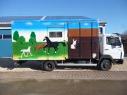 Pferdetransporter-LKW Mercedes