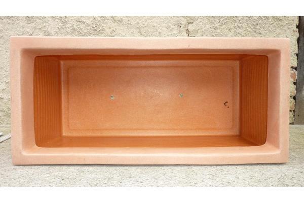 pflanzkasten terrakotta nachbildung quergestreift 80 cm in dachau sonstiges f r den. Black Bedroom Furniture Sets. Home Design Ideas