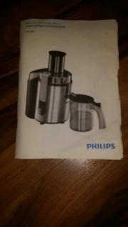 Philips Entsafter Silber