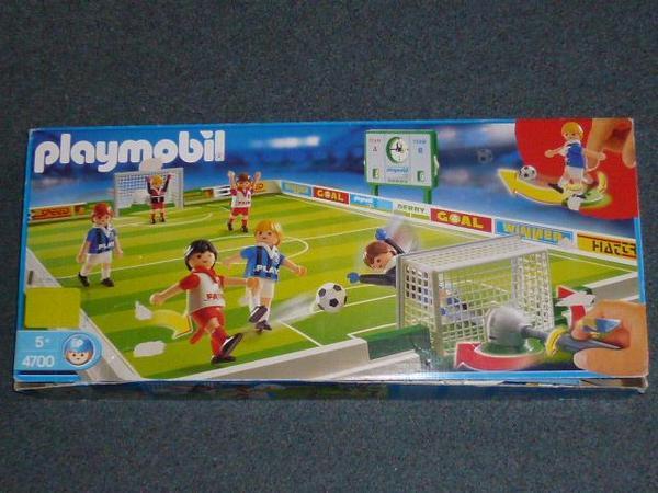playmobil 4700 fussball tip original kick set 4700 in. Black Bedroom Furniture Sets. Home Design Ideas