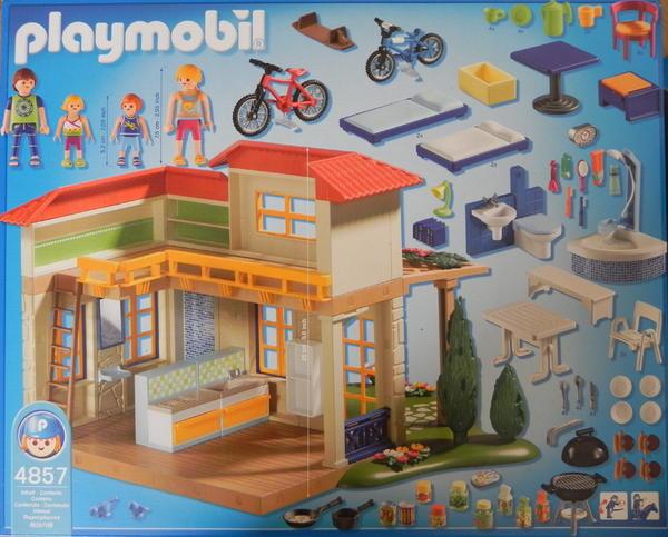 Spielzeug Lego Playmobil Playmobil Ferientraumhaus 4857