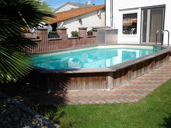 pool swimmingpool schwimmbad in pfungstadt sonstiges f r den garten balkon terrasse. Black Bedroom Furniture Sets. Home Design Ideas