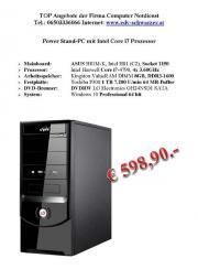 Power Stand-PC mit Intel Core i7 Prozessor gebraucht kaufen  Salzburg