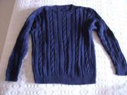 Pullover Zopfmuster Handarbeit