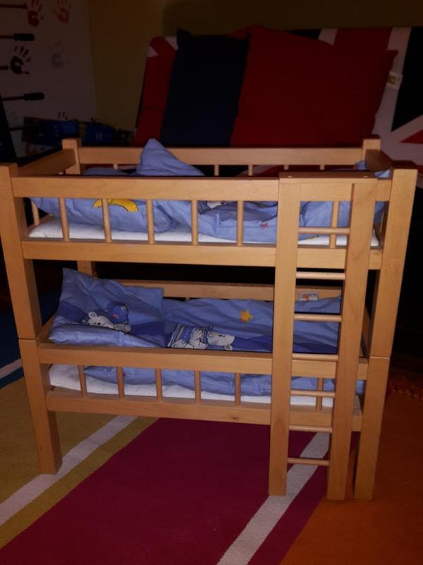 puppen etagenbett in rankweil kaufen und verkaufen ber private kleinanzeigen. Black Bedroom Furniture Sets. Home Design Ideas