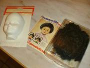 Puppenperücke und Puppenmaske
