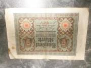 Reichsmark Scheine 13
