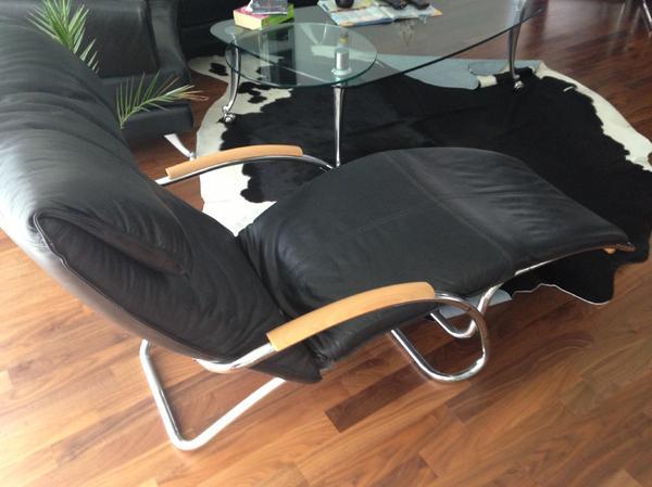 relaxliege design modern in leonberg leder kaufen und. Black Bedroom Furniture Sets. Home Design Ideas