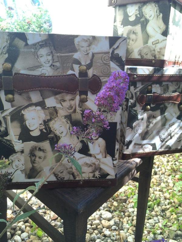 Retro aufbewahrung boxen set marilyn monroe von impressionen in leipzig dekoartikel kaufen - Retro dekoartikel ...