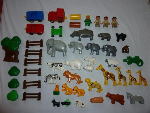 riesiges lego duplo konvolut 410 teile tiere steine platten in d sseldorf spielzeug lego. Black Bedroom Furniture Sets. Home Design Ideas