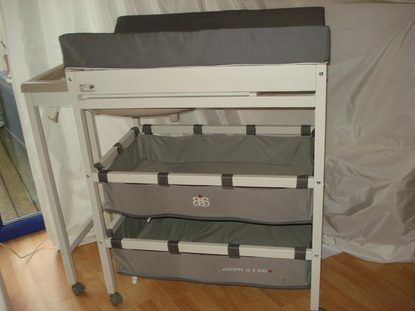 wickeltische roba bade wickel kombination rock star baby. Black Bedroom Furniture Sets. Home Design Ideas
