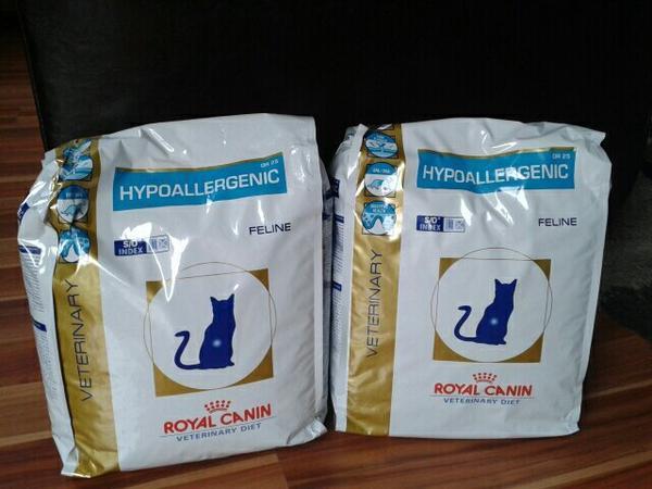 royal canin hypoallergenic f r katzen in ha loch kaufen und verkaufen ber private kleinanzeigen. Black Bedroom Furniture Sets. Home Design Ideas