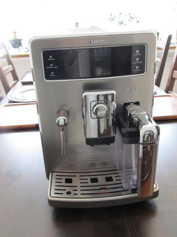 saeco xelsis edelstahl in germering kaffee espressomaschinen kaufen und verkaufen ber. Black Bedroom Furniture Sets. Home Design Ideas