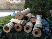 Säulen aus italienischem