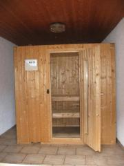 Sauna an Selbstabholer (