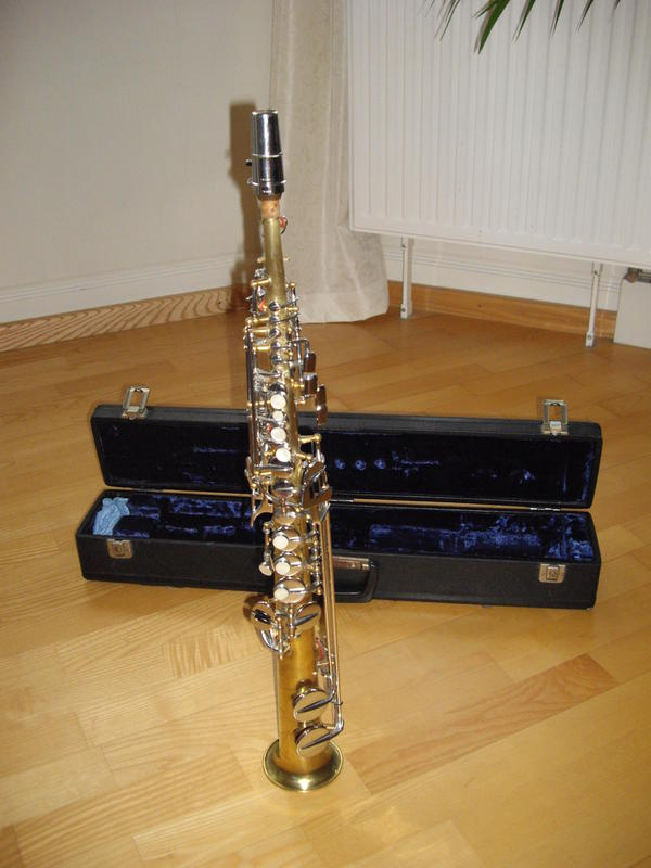 saxophon sopran dolnet gold silber vintage in karlstadt. Black Bedroom Furniture Sets. Home Design Ideas