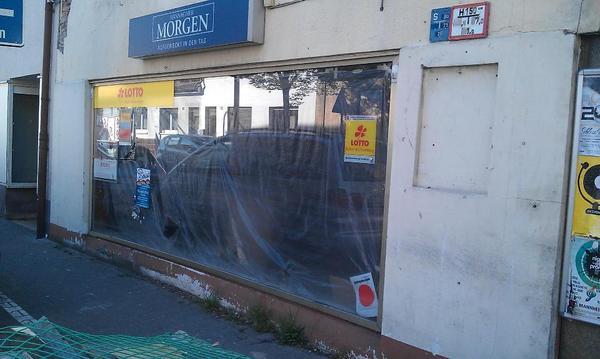 Schaufenster alufenstr fenster in mannheim fenster for Fenster zu verschenken